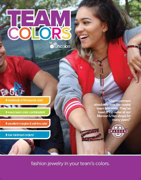 Team Colors Four Sheet